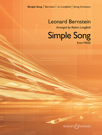 A Simple Song (from Mass) - Orchestra Music Download