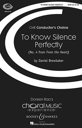 To Know Silence Perfectly (No. 4 from