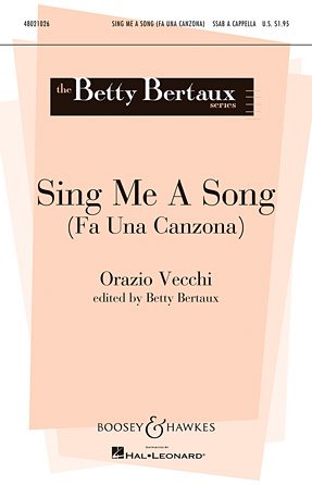 Sing Me A Song (Fa Una Canzona)