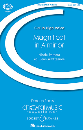 Magnificat in A Minor - Score