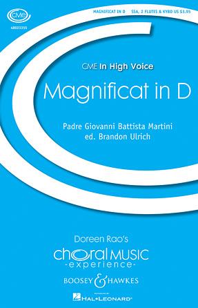 Magnificat in D - Flute 1 & 2