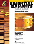 Essential Elements 2000, Book 1 For Percussion (Book Only)