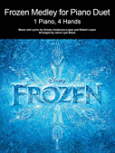 Frozen Medley for Piano Duet