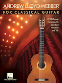 Andrew Lloyd Webber for Classical Guitar
