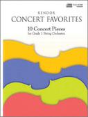 Kendor Concert Favorites - Bass