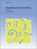 Diversities For Snare Drum