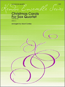 Christmas Carols For Sax Quartet - 1st Alto Sax