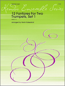12 Fanfares For Two Trumpets, Set 1
