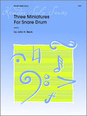 Three Miniatures For Snare Drum