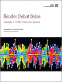 Kendor Debut Solos - Bb Clarinet - Piano Accompaniment