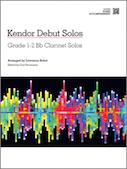 Kendor Debut Solos - Bb Clarinet - Piano Accompaniment