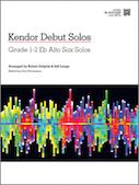 Kendor Debut Solos - Eb Alto Sax
