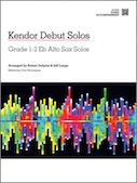 Kendor Debut Solos - Eb Alto Sax - Piano Accompaniment