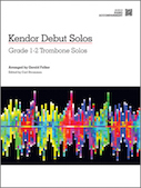 Kendor Debut Solos - Trombone - Piano Accompaniment