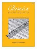 Classics For Flute Quartet - 3rd Flute