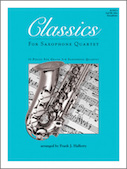 Classics For Saxophone Quartet - 2nd Eb Alto Saxophone