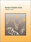Kendor Recital Solos - Eb Alto Saxophone - Piano Accompaniment