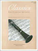 Classics For Clarinet Quartet - 2nd Bb Clarinet
