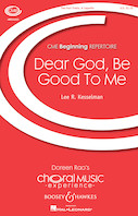 Dear God, Be Good To Me