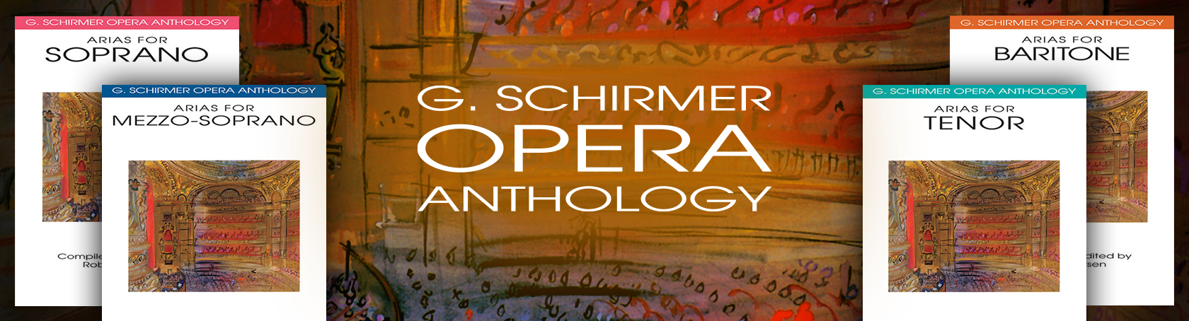 G Schirmer Opera Anthology