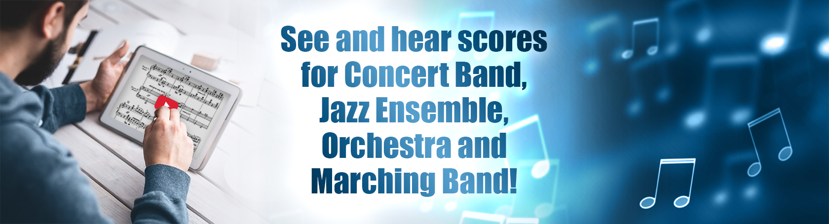 Scoreplay - See and hear scores for Concert Band, Jazz Ensemble, Orchestra and Marching Band