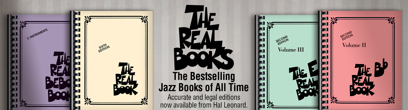 Real Books - The Bestselling Jazz Books of All Time