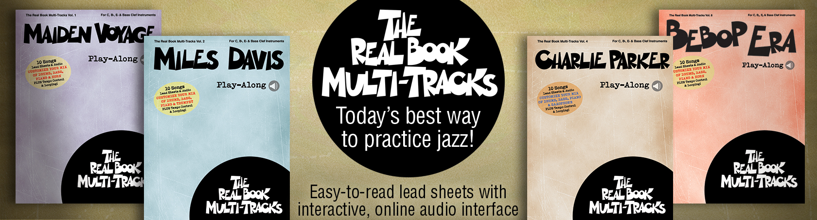 Real Book Multi-Tracks - Today's best way to practice jazz