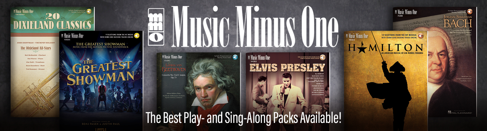 Music Minus One - The Best Play- and Sing-Along Packs Available