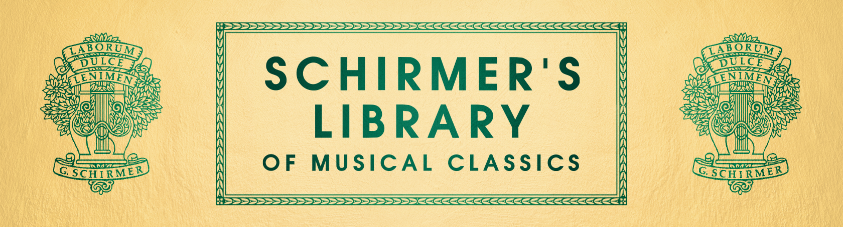 Schirmer's Library of Musical Classics