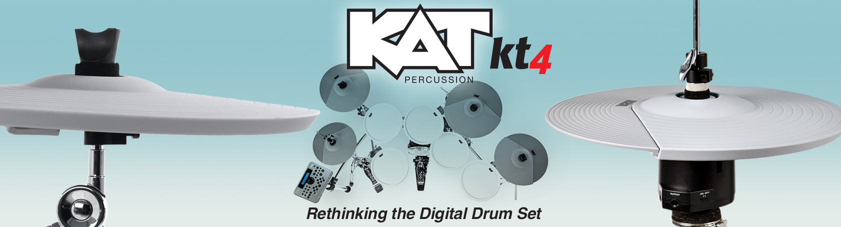 KAT KT-4 - Rethinking the Digital Drumset