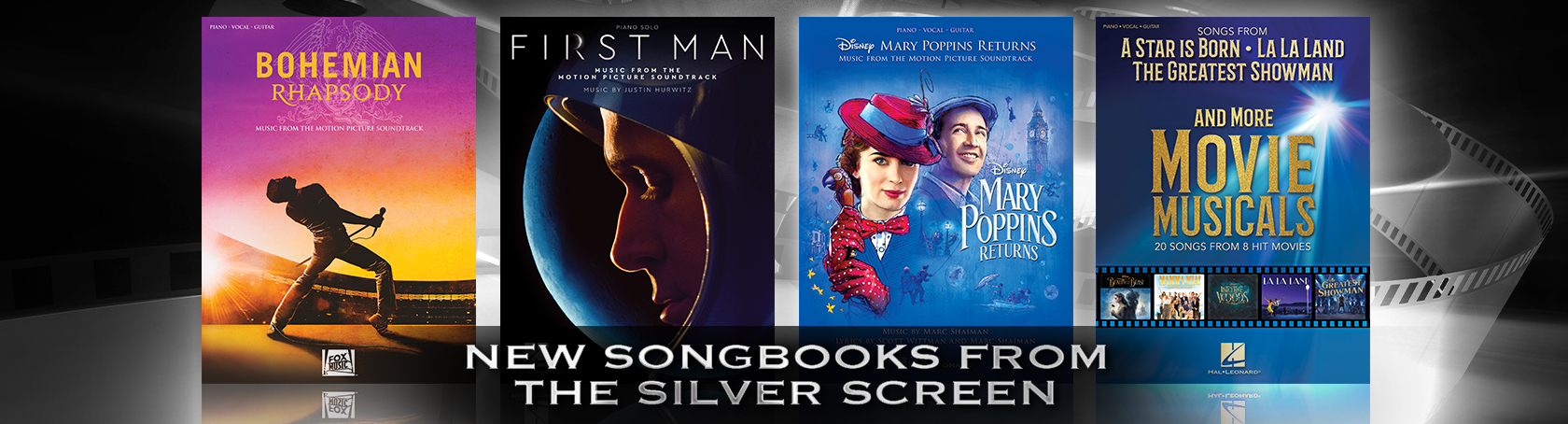 New Songbooks from the Silver Screen