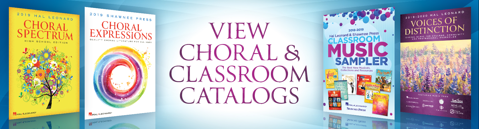 Choral Promos - View Choral & Classroom Promotions