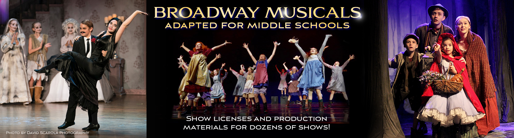 Broadway Musicals for Middle Schools