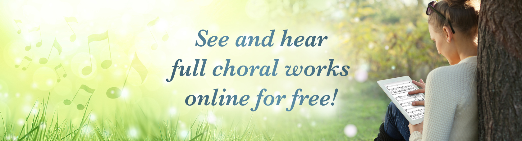 See & Hear Choral Scores Online