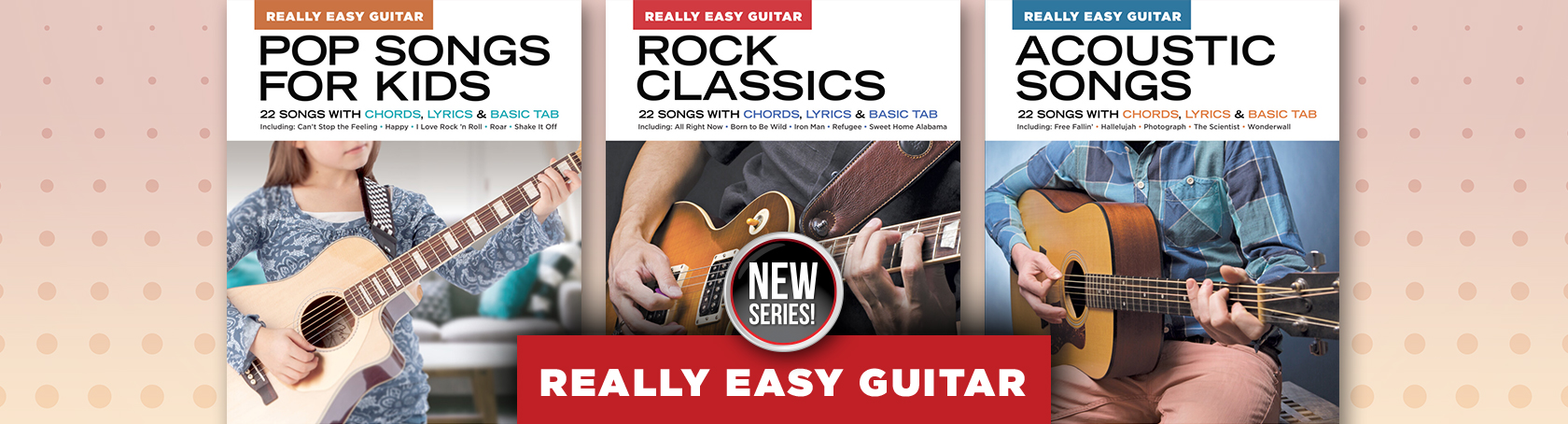 Really Easy Guitar - New Series!