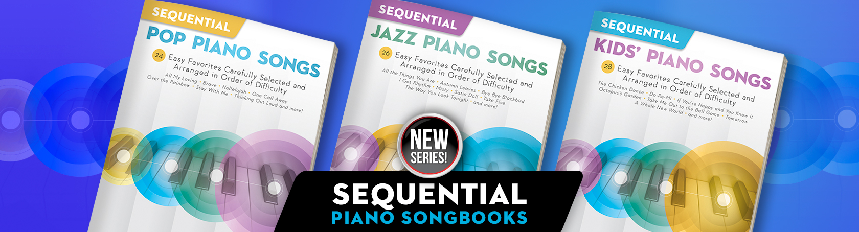 Sequential Piano Songs - New Series!