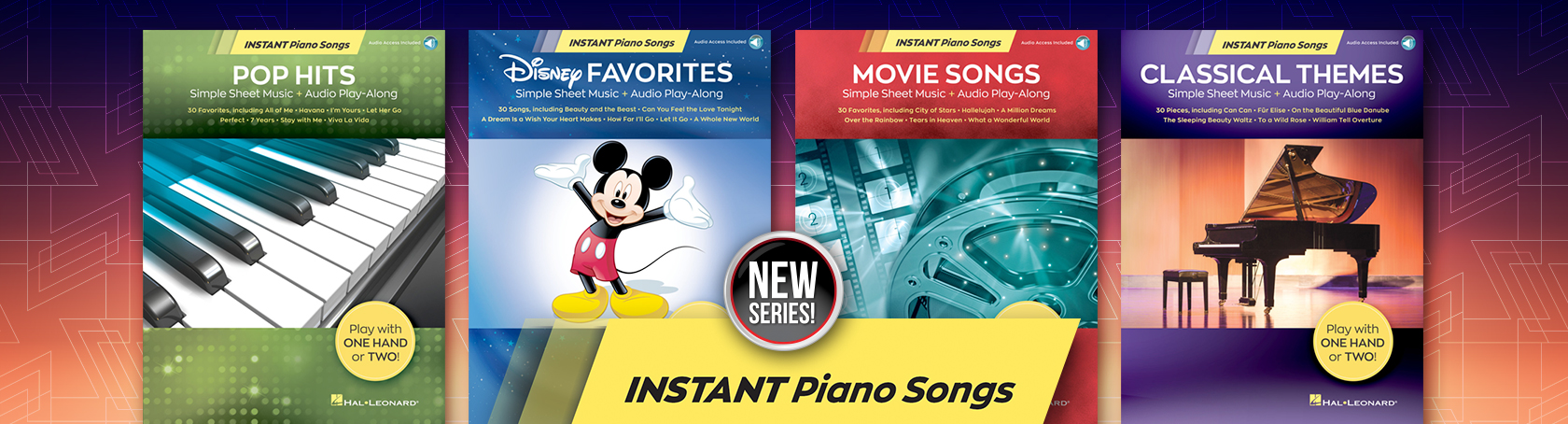 Instant Piano Songs - New Series!
