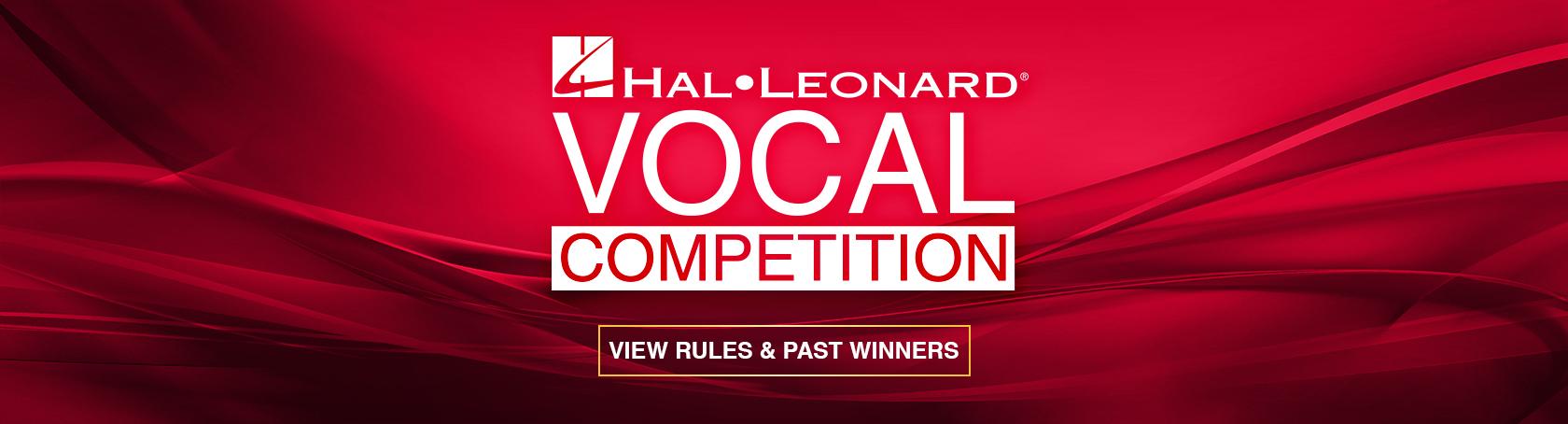 2020 Hal Leonard Vocal Competition | Hal Leonard Online