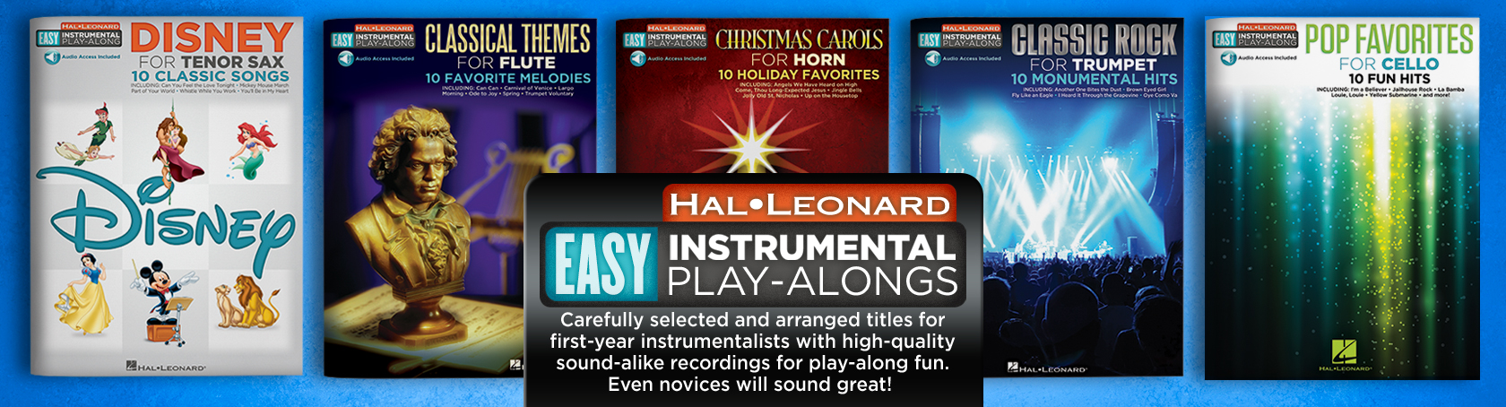Easy Instrumental Play-Alongs
