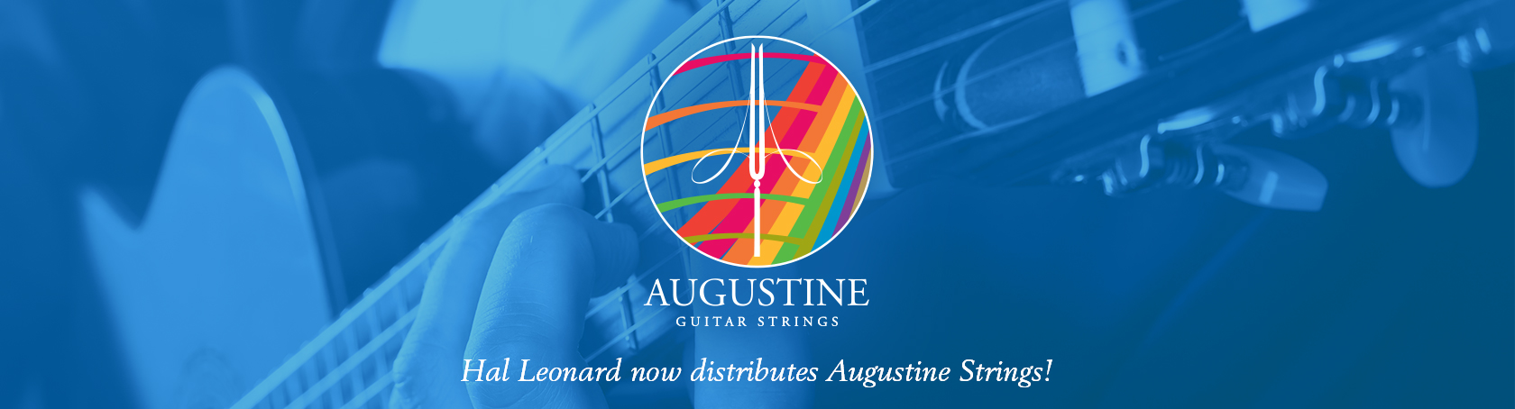 A or 5th 12-PACK Augustine BLUE Classical Guitar String Single String