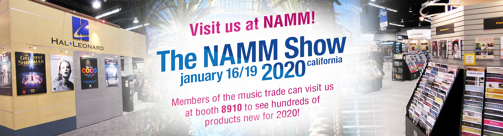 Visit us at NAMM