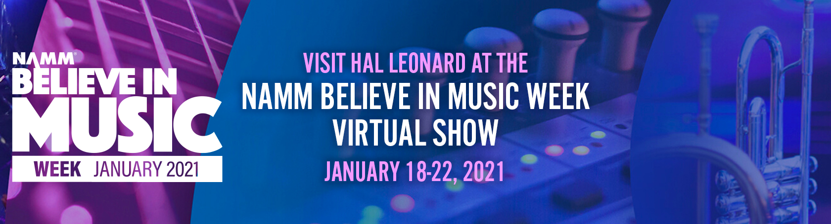 NAMM Believe in Music 2021