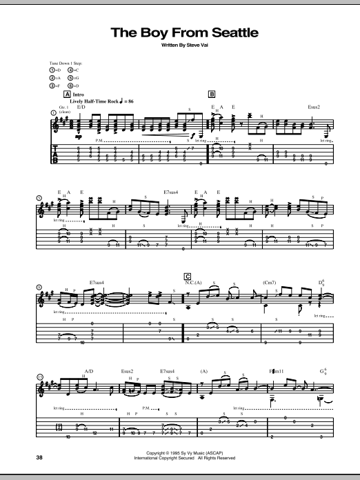 The Boy From Seattle Sheet Music