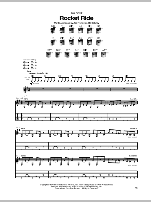 Rocket Ride Sheet Music