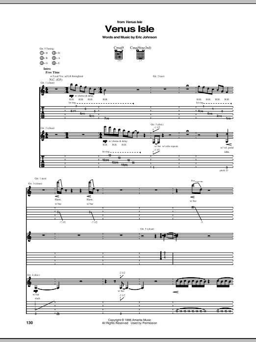 Venus Isle Sheet Music