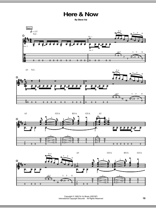Here & Now Sheet Music