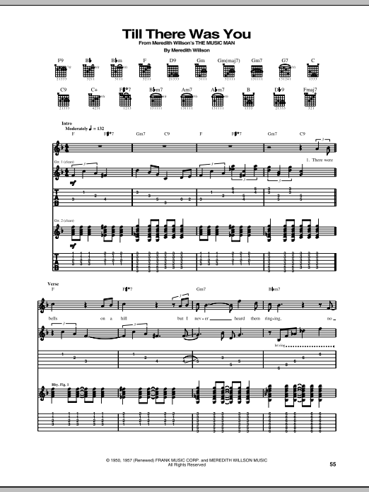 Fine Till There Was You Chords Adornment - Beginner Guitar Piano ...