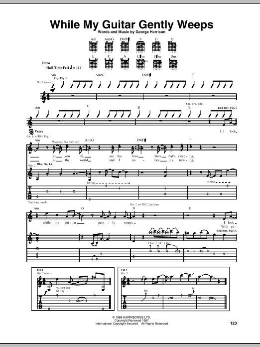 Summertime from Porgy and Bess Sheet Music in A Minor