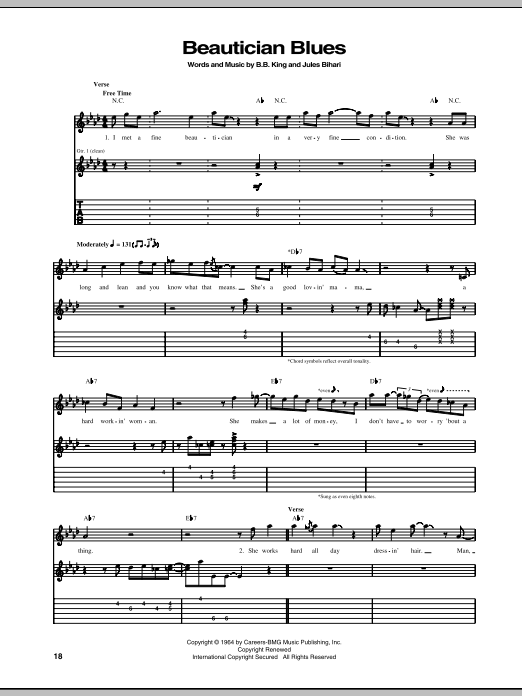 Beautician Blues Sheet Music