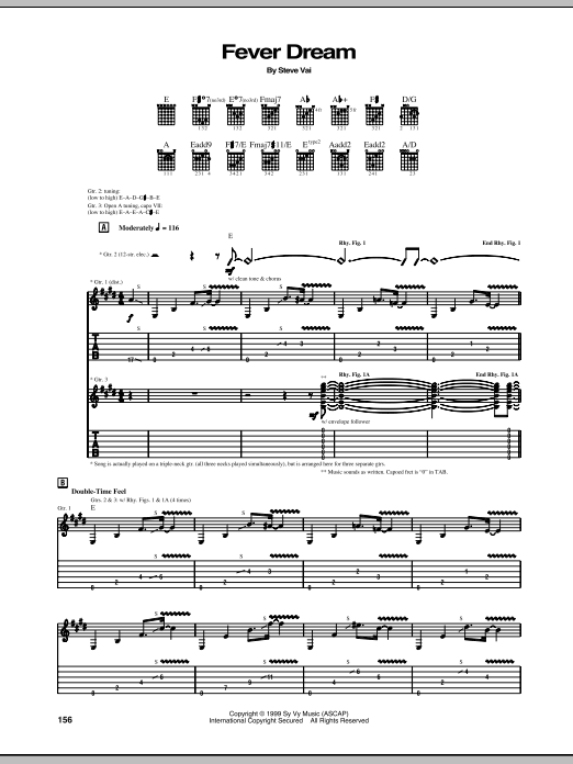 Fever Dream Sheet Music